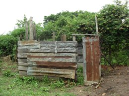 Bwambara Secondary School old washroom.JPG