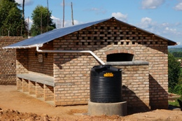 New washroom - Buyanga Grammar School